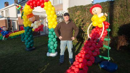 Ode aan carnaval in geel, groen en rood