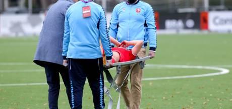 Blessure FC Twente-aanvalster Dhont zware domper op winst op PSV