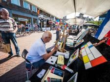 Koornmarkt in Almelo voelt even als kunsthart van Parijs