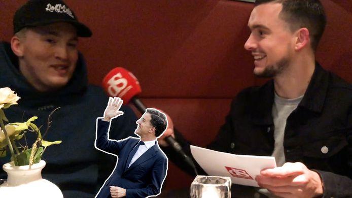 Lars Bos (Snelle) in gesprek met onze verslaggever.