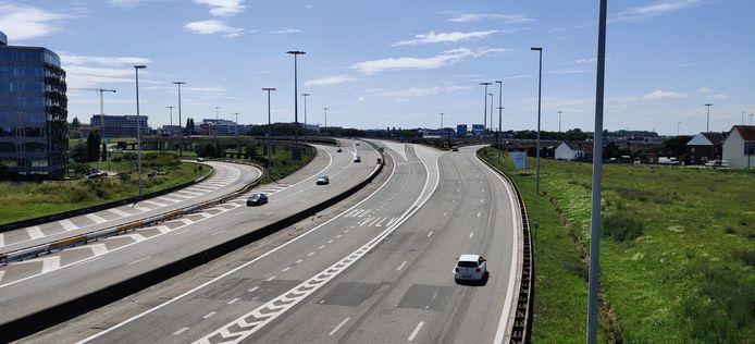Het huidige knooppunt is een wirwar van wegen