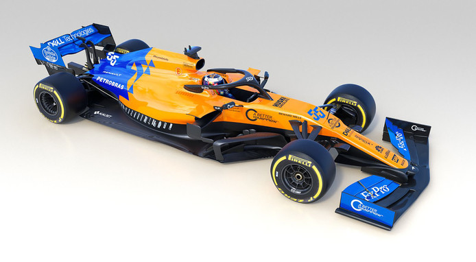 De MCL34 van McLaren
