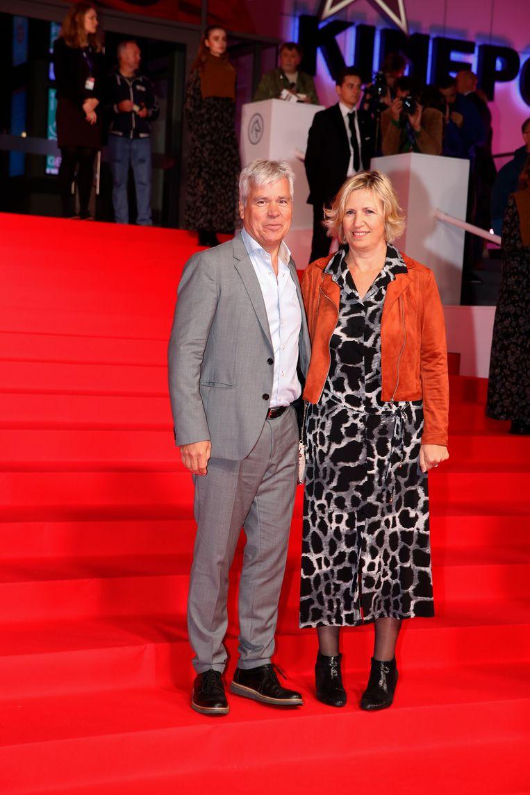 Bert Anciaux en echtgenote Damienne