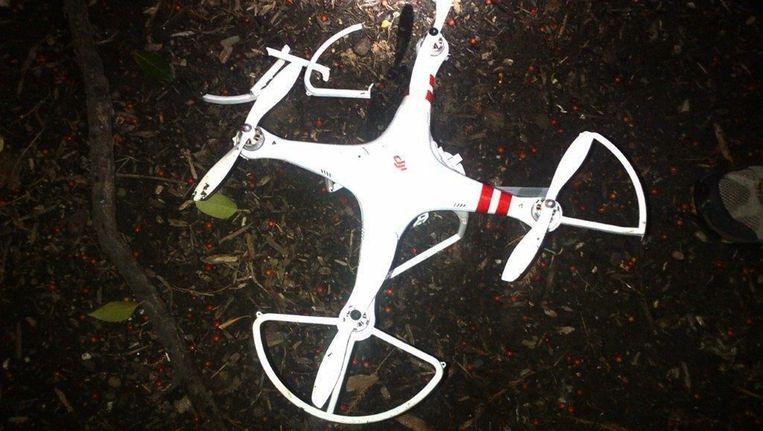 De drone die op 26 januari in de tuin van het Witte Huis landde Beeld afp