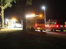 Auto botst tegen boom in Holten: vrouw naar ziekenhuis
