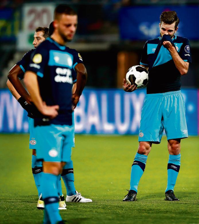 PSV werd vorig seizoen uitgeschakeld door Sparta in het bekertoernooi.