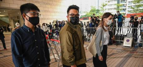 Activist Joshua Wong pleit schuldig tijdens proces in Hongkong