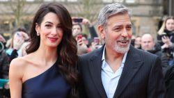 """George Clooney haalt gewaagde grap uit: """"Mijn Italiaanse huishoudster liep gillend de kamer uit"""""""