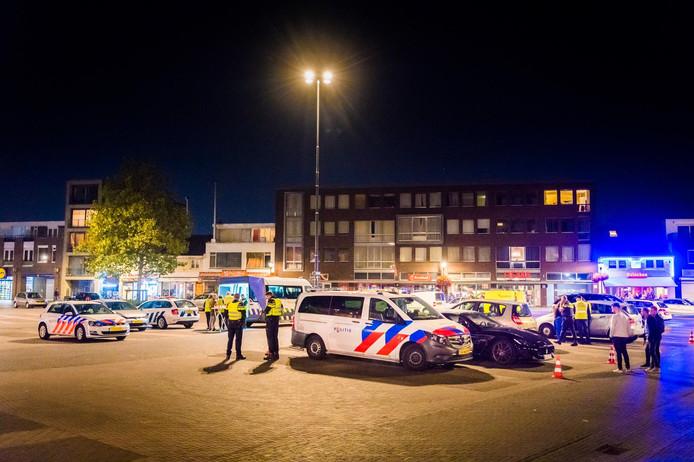Archieffoto: grote controle op de Woenselse Markt in Eindhoven.