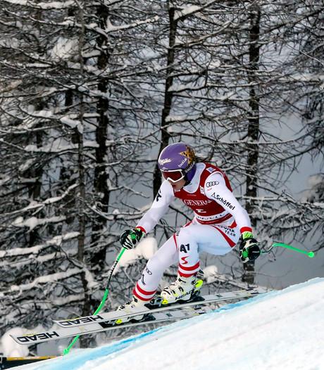 Anna Veith lijkt op tijd in olympische vorm
