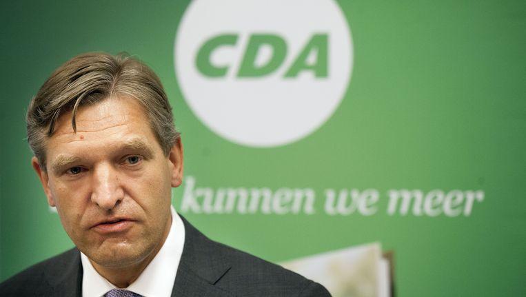 CDA-lijsttrekker Sybrand van Haersma Buma Beeld anp