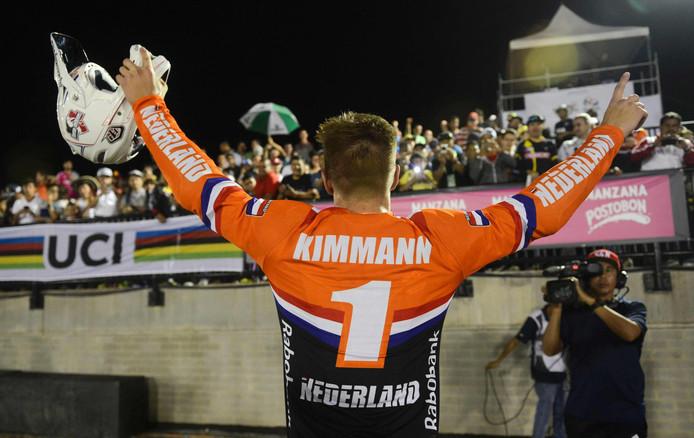 Niek Kimmann doet het in de wereldbekers dit seizoen heel erg goed, maar kreeg tijdens het WK in Azerbeidzjan kramp en strandde in de halve finales.