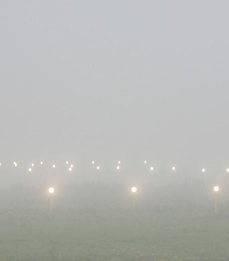 Vliegverkeer Eindhoven Airport ontregeld door dichte mist