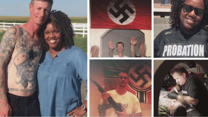 De opmerkelijke vriendschap tussen een neonazi en de zwarte vrouw die hem uit de gevangenis moest houden