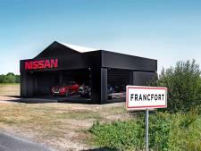 Japans grapje: Nissan onthult nieuw model niet in Frankfurt maar in 'Francfort'