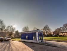 'Rare' pinbox op parkeerplaats Lochem