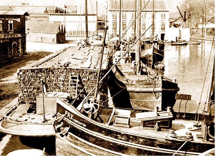 De scheepsvaart heeft het leven in (oost) Brabant ingrijpend veranderd.