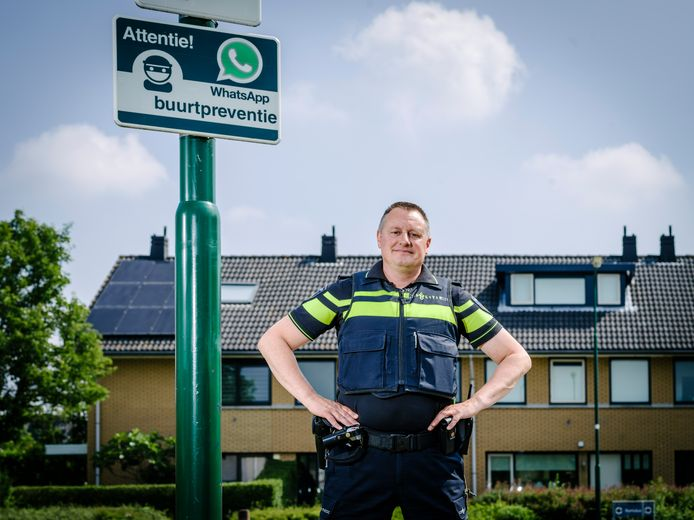 Sybren van der Velden, landelijk coördinator woninginbraken.