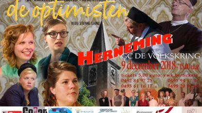 Herneming Wanzeelse film 'De optimisten' in GC De Volkskring