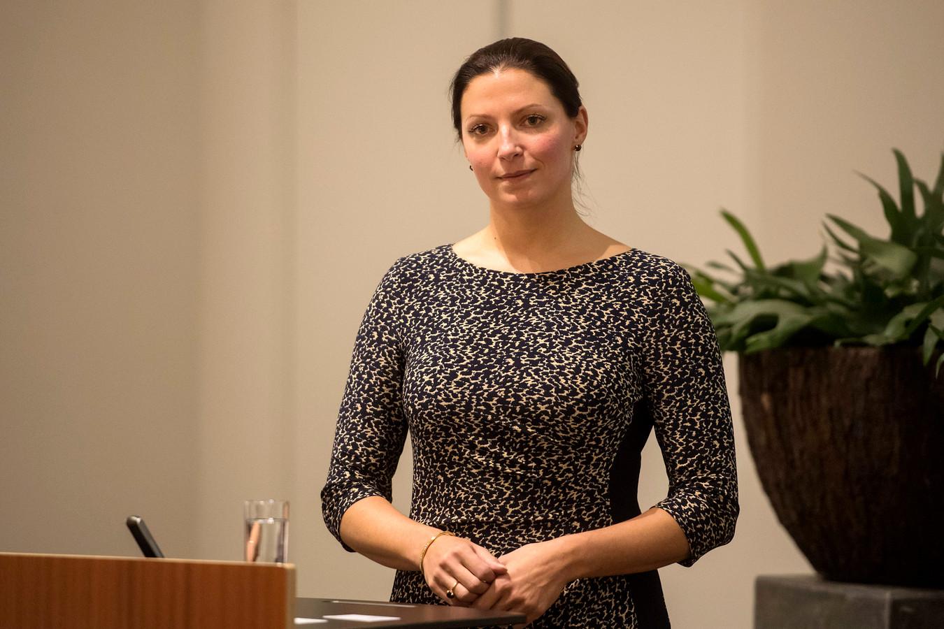Hanne van Aart, de nieuwe burgemeester van Loon op Zand.