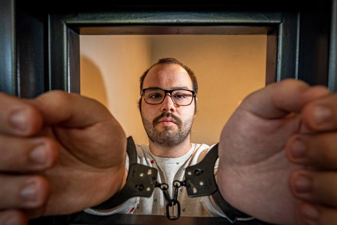 """Daniel Knoot, producent van de 'real life game' -  """"Good Cop Bad Cop""""."""