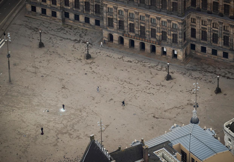 Tijdens de intelligente lockdown vielen hotspots in Amsterdam stil.