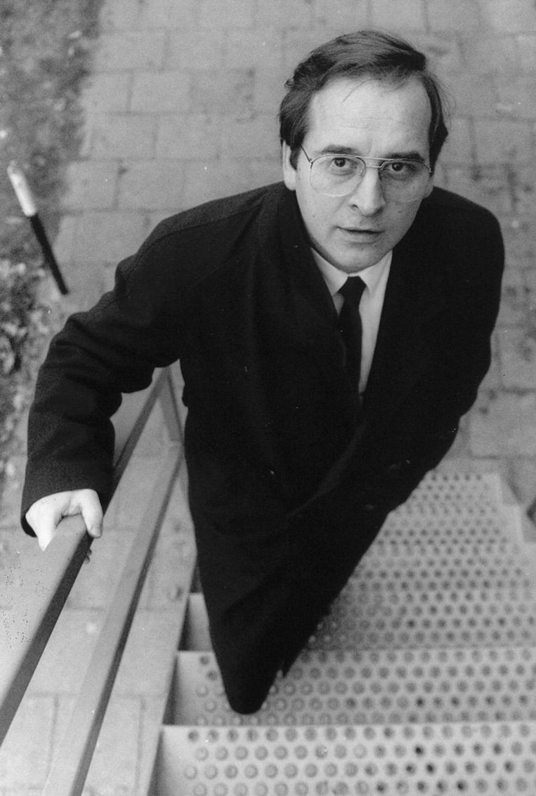 Karel Aalbers in 1990 Beeld anp