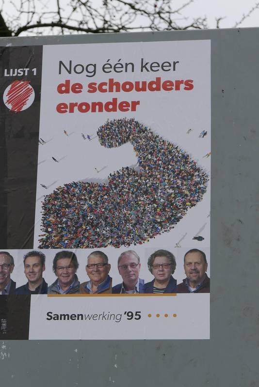Johan van den Brand voert de lijst van Samenwerking'95 aan