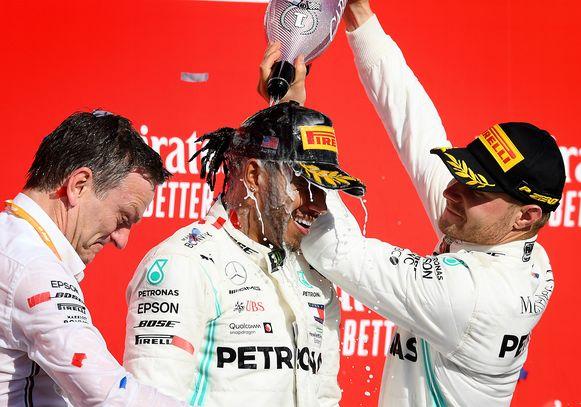 Hamilton heeft zich net voor een zesde keer tot wereldkampioen gekroond.