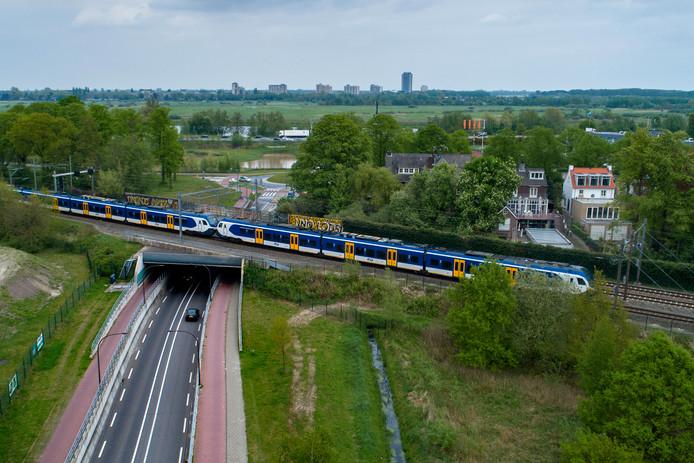 Het spoorplan in Vught staat 'on hold'.