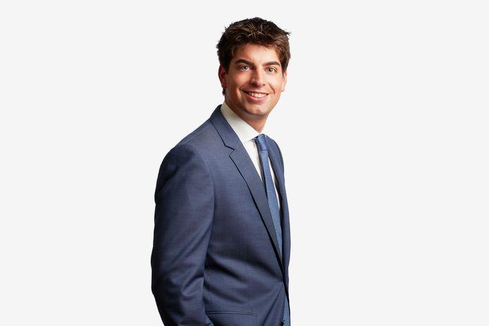 Erik van den Munckhof, kandidaat-notaris bij Hekkelman Notarissen in Nijmegen.