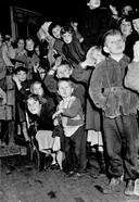 Kinderen bij de intocht van Sint-Nicolaas.