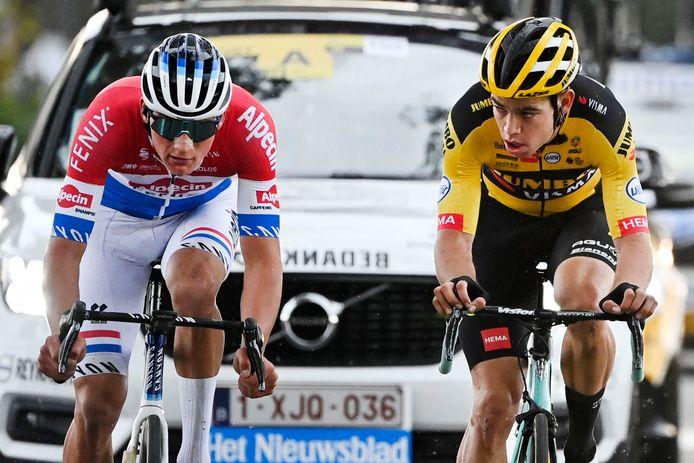 Mathieu van der Poel et Wout Van Aert