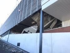 Auto vlucht ingestorte garage Wormerveer uit: 'Reed zo over brokstukken heen'