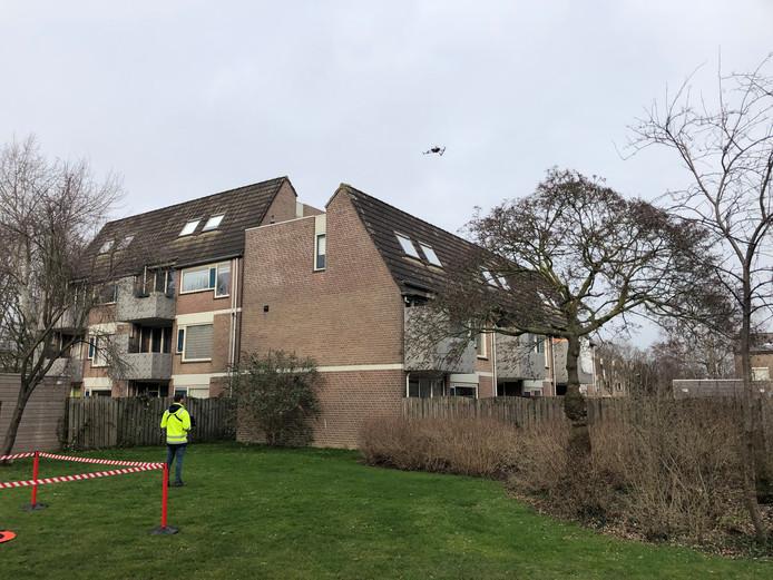 Talis zet een drone in om huurhuizen te inspecteren.