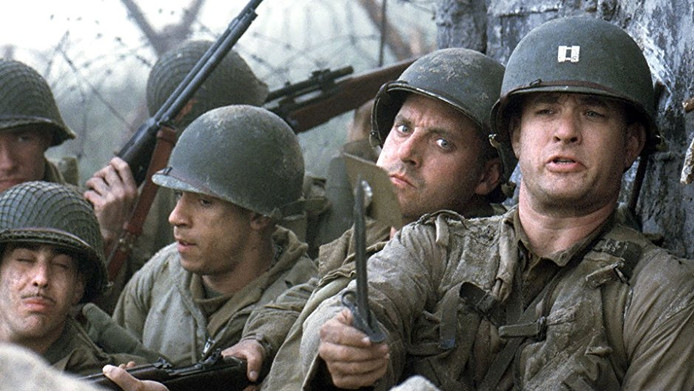 Saving Private Ryan.