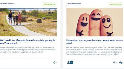 """""""We willen de mening van de Maasmechelaar kennen"""": gemeente start met burgerplatform"""