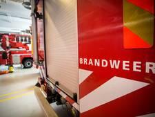 Wasmachine vliegt in brand in Vleuten