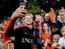 De Jong: Opmars Oranje komt echt niet alleen door mij, hoor
