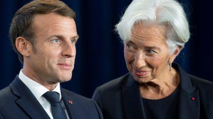 """Christine Lagarde laat ballonnetje op voor eurozonebegroting: """"We delen een munt, maar weinig budgettaire politiek"""""""