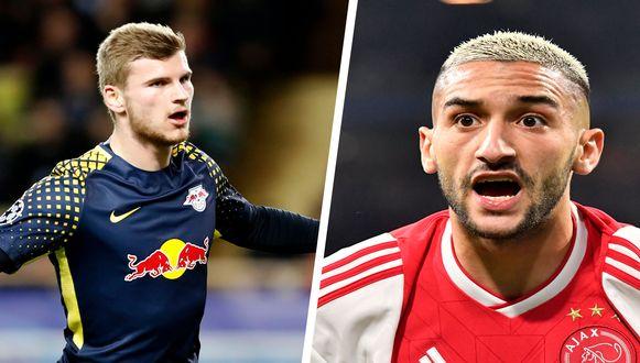 Werner en Ziyech.