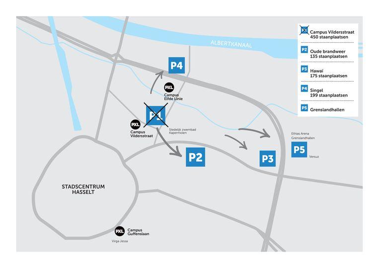 Hier kan je nog parkeren na 1 oktober.
