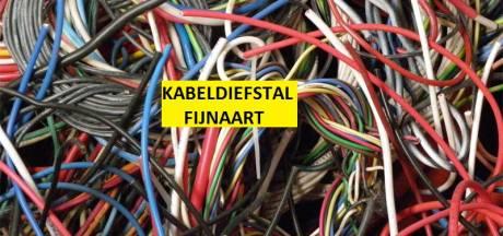 Vijftig meter elektro-kabel gestolen bij bedrijfsinbraak in Fijnaart