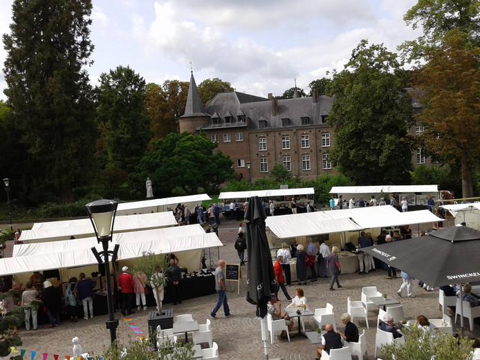 Een eerdere editie van de kunstmarkt in Gemert