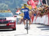 Apeldoornse ploegleider Van Eijden wint eerste bergrit