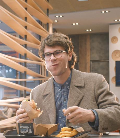 Arnhems poppodium in commercial McDonald's