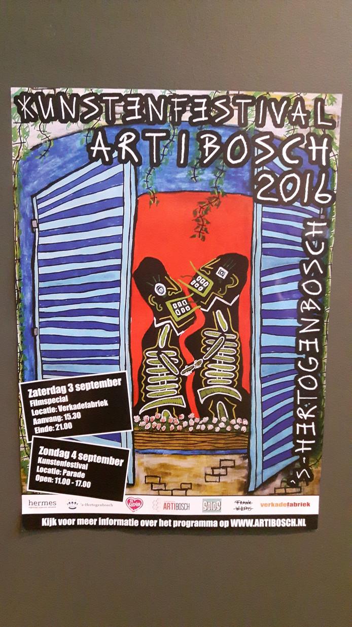 Kunstenfestival ArtiBosch wordt zaterdag in de Verkadefabriek en zondag op de Parade in Den Bosch gehouden.