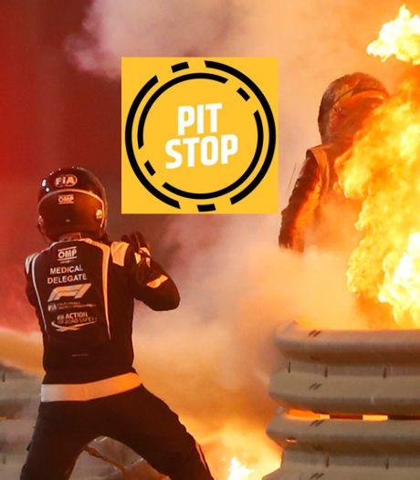 Podcast | Het engeltje op de schouder van Romain Grosjean