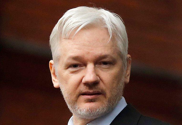 Wikileaksoprichter Julian Assange Beeld ap