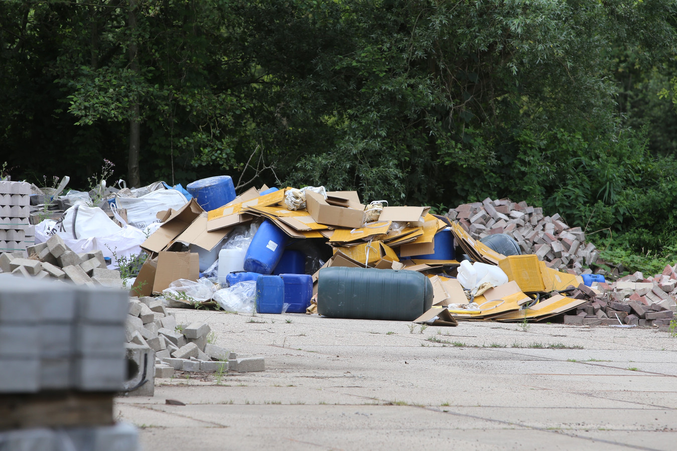 Drugsdumping in Liempde.